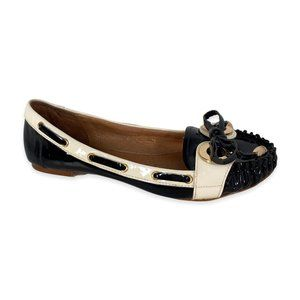Jeffrey Campbell Portal Patent Leather Loafer Flat